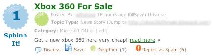 Sphinn - for sale