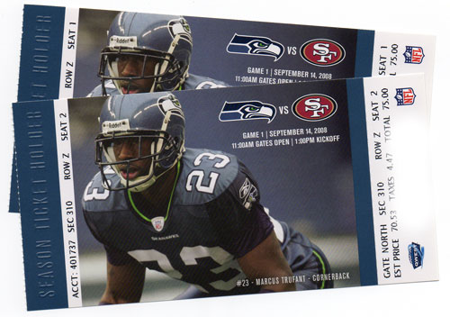 Seahawks tickets