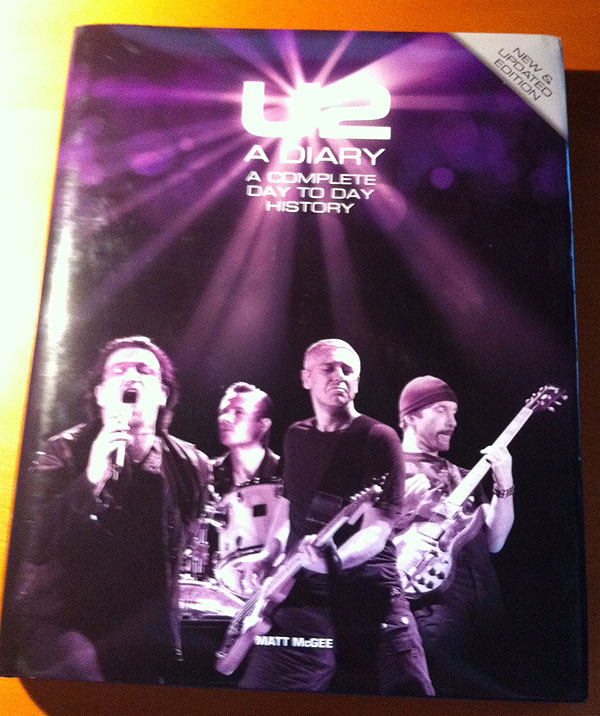 Hardback Version of U2-A Diary?