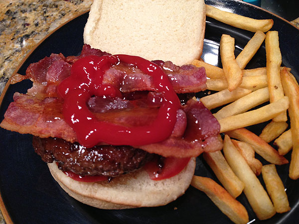 My Latest Burger Experiment: Syrup