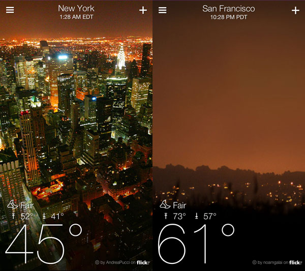 How to Add Your Photos to Yahoo's Weather App