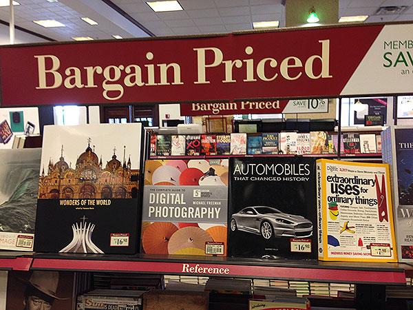 A Sense of Fear at Barnes & Noble