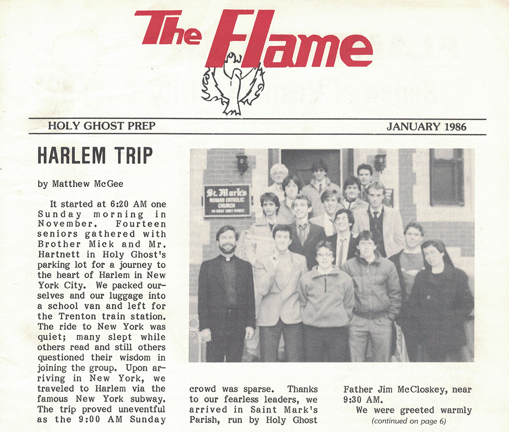 """The Start of My Writing Career: """"The Flame"""" (my HS newspaper)"""