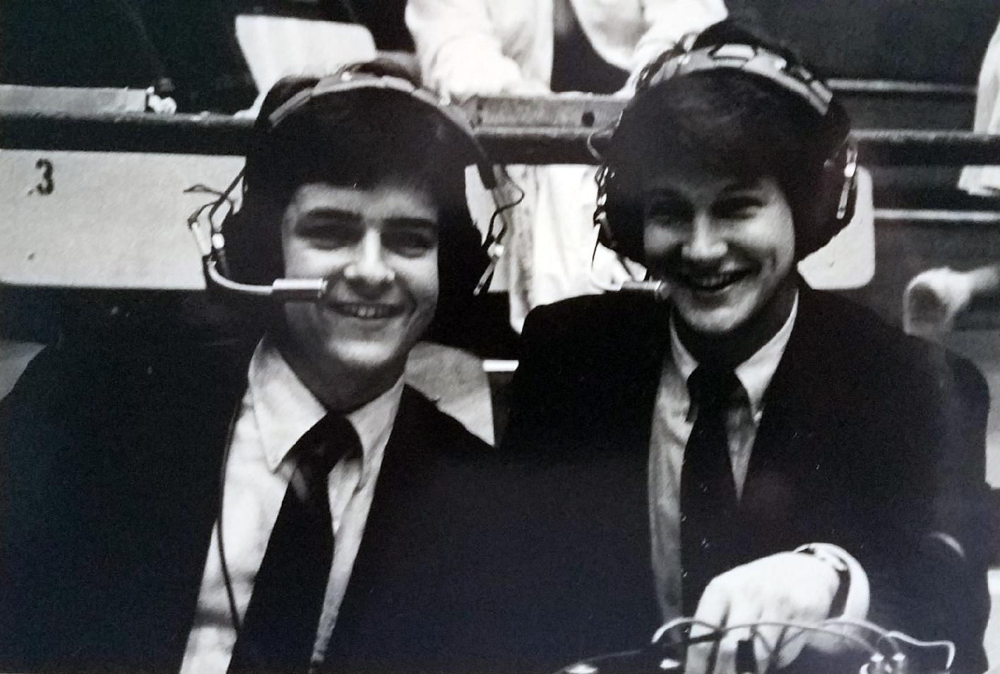 Young Pepperdine Sportscasters (Circa 1989-1990)